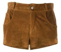 Kurze Shorts mit Fransen