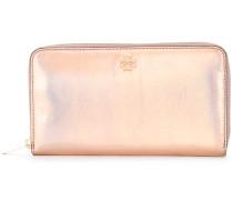 iridescent zipped purse