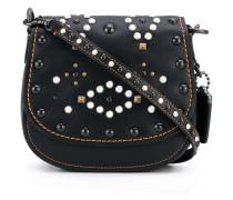 mini studded shoulder bag