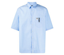 Kurzärmeliges 'Fluo' Hemd