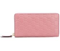 GG embossed continental wallet - women