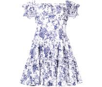 Florales Kleid mit ausgestellter Form