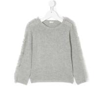 Pullover mit Fransenborten
