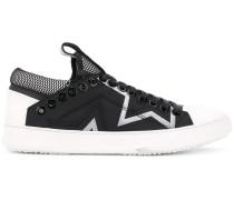 Sneakers mit Stern-Applikation - men