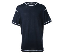 T-Shirt mit Kontraststreifen - men - Wolle - S