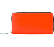 Rechteckiges Portemonnaie mit Reißverschluss