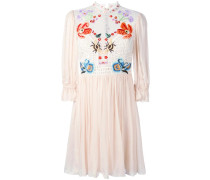 Mini 'Aura' Kleid mit Spitzeneinsatz - women