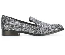 Loafer mit Glitzer-Effekt