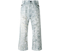 Jeans in Distressed-Optik - men - Baumwolle - XS