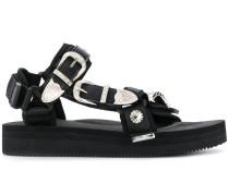 x TOGA Sandalen mit Schnallen