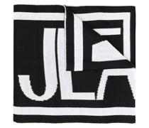 Intarsien-Schal mit Logo