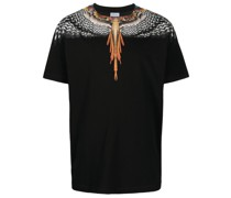 T-Shirt mit Flügel-Print