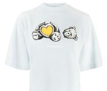 T-Shirt mit Bärmotiv