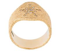 sparkly 'Superstellar' sheild ring
