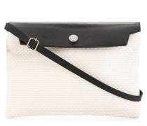 Mini-Tasche mit Kontrastdeckel