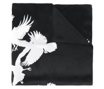 birds print scarf