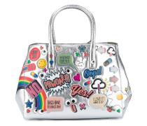 'Ebury' Handtasche mit Stickern