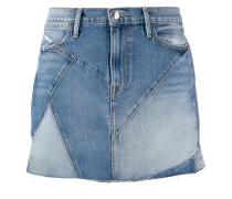 Jeans-Minirock im Patchwork-Look