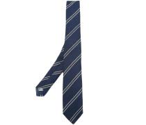 striped detail tie