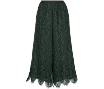 lace high waisted culottes