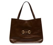 Handtasche mit Horsebit-Schnalle