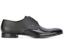 - Derby-Schuhe aus gekörntem Leder - men