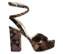 'Mara' Sandalen mit Plateausohle