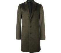 Mantel mit eingefassten Taschen