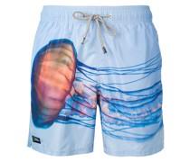 Barbados jellyfish print swim shorts
