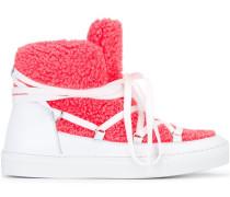 Stiefel mit Wolleinsatz