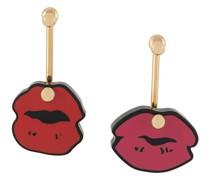 'Lipstick' Ohrringe