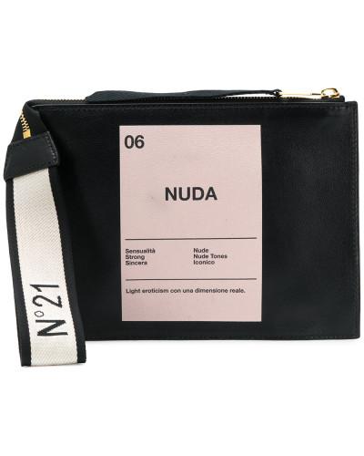 'Nuda' Clutch mit Print