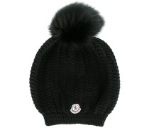 bobble top beanie