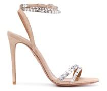 Verzierte Stiletto-Sandalen