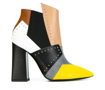 Stiefeletten in Colour-Block-Optik