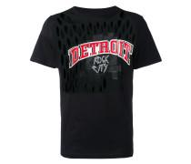 T-Shirt mit Cut-Outs - men - Baumwolle - 50