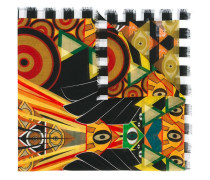Egyptian art deco printed stole