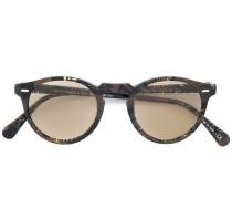 'Gregory Peck' Brille mit runden Gläsern