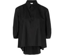 puff-sleeved shirt