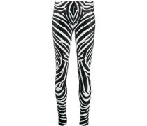 Leggings mit Zebramuster