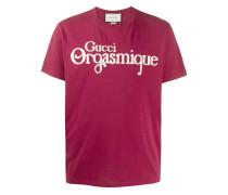 """T-Shirt mit """"Orgasmique""""-Print"""