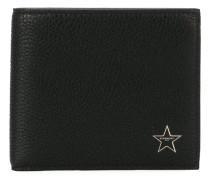 Portemonnaie mit sternenförmiger Logo-Applikation