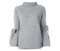 tie sleeve sweater