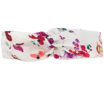 floral print hair band