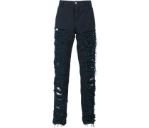 Hose mit Distressed-Optik