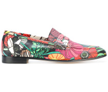 Loafer mit floralem Print