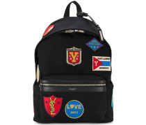 'City' Rucksack mit Patches