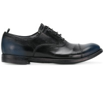 worn-effect Oxford shoes