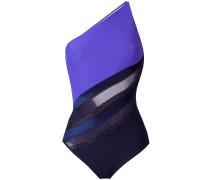 'Diagonal Touch' Badeanzug