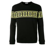 - Sweatshirt mit geometrischem Print - men